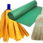 Material y utensilios de limpieza
